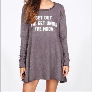 Wildfox Get Under The Moon Dress Grunge Girl Dress